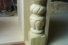 detail stĺpika
