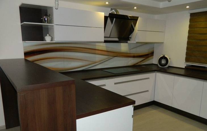 Moderné kuchynské linky